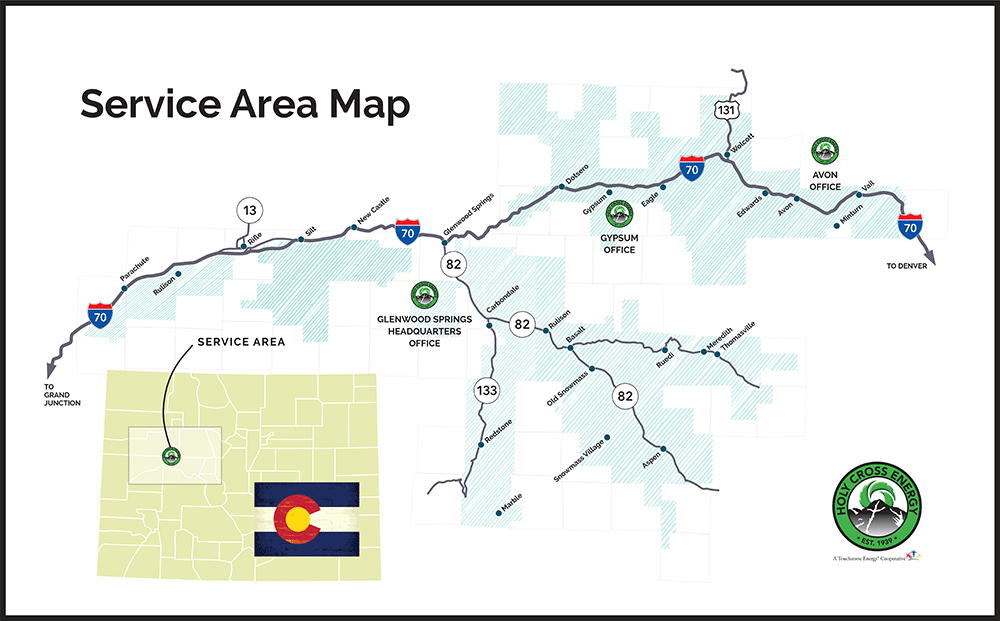 service map holy cross energy
