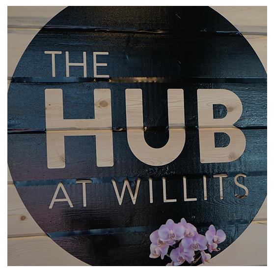 Hub at willits holy cross energy